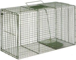 Duke 1120 Heavy Duty Extra XX-Large Cage Trap Green 1ea/36 In X 15 In X 20 in