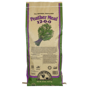 Down To Earth Feather Meal Natural Fertilizer 12-0-0 OMRI 1ea/20 lb