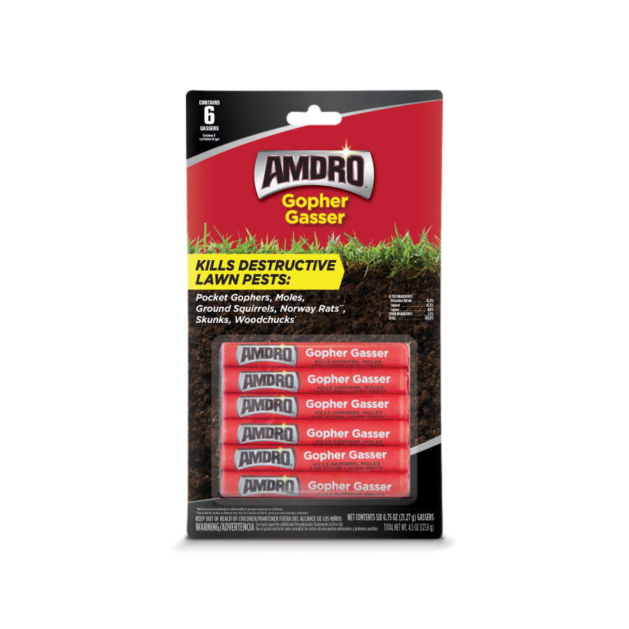 Amdro Gopher Gasser 12ea/6 pk Of 0.75 oz
