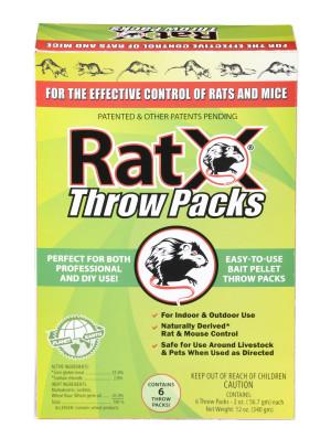 RatX Throw Packs 12ea/0.75 lb