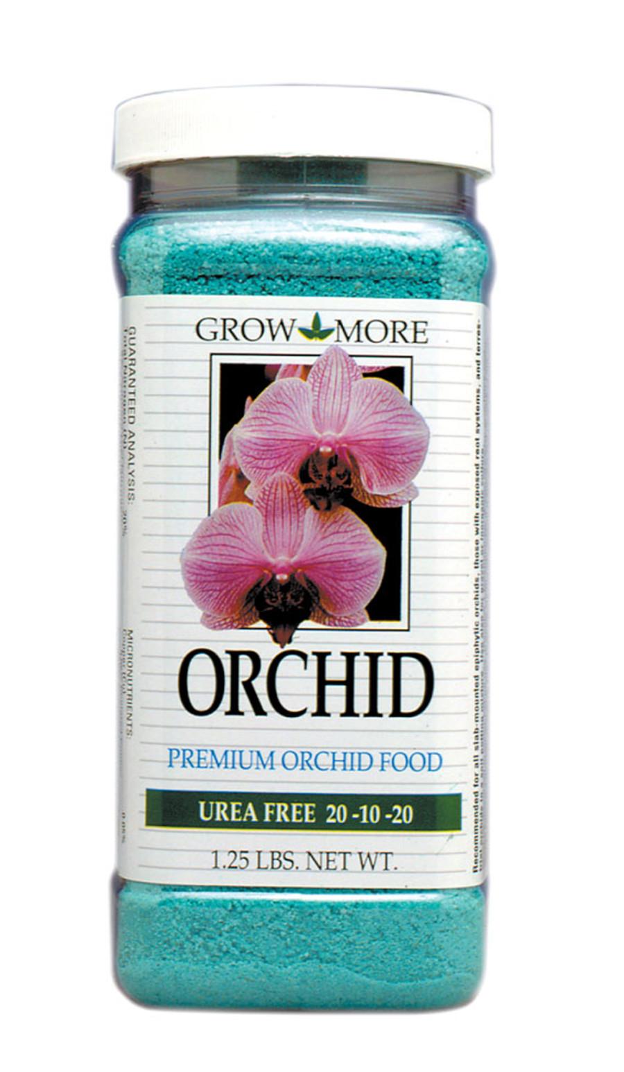 Grow More Orchid Food Urea Free Fertilizer 20-10-20