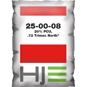 Howard Johnson 25-00-08 20% PCU, .72 Trimec North 40ea/50 lb