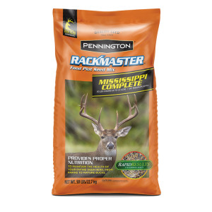 Pennington Rackmaster Mississippi Complete Food Plot Seed Mix 1ea/50 lb