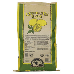 Down To Earth Citrus Mix Natural Fertilizer 6-3-3 OMRI 1ea/50 lb