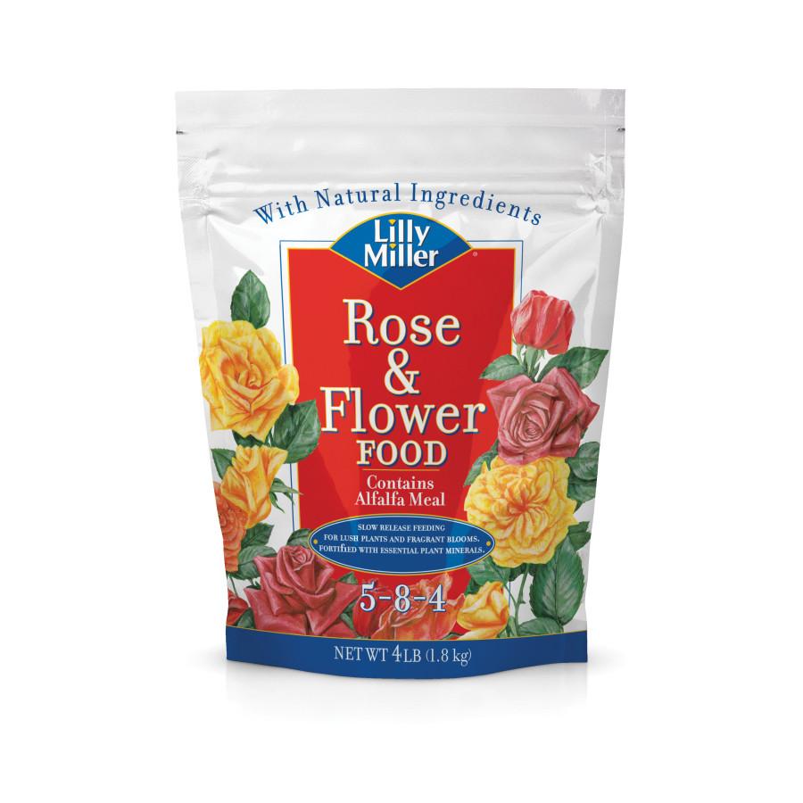 Lilly Miller Rose & Flower Food 5-8-4 12ea/4 lb