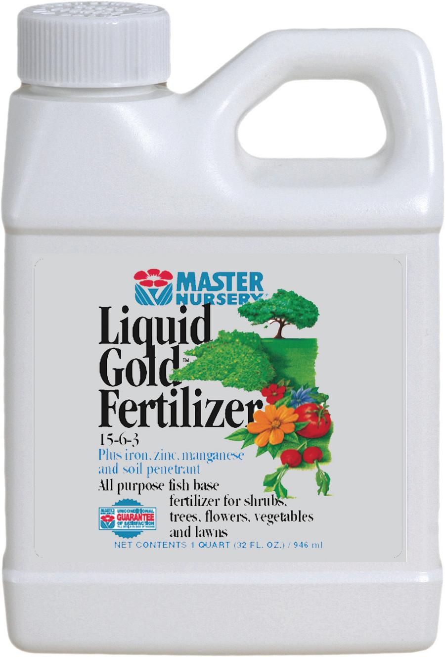Master Nursery Liquid Gold 15-6-3 Fertilizer Concentrate