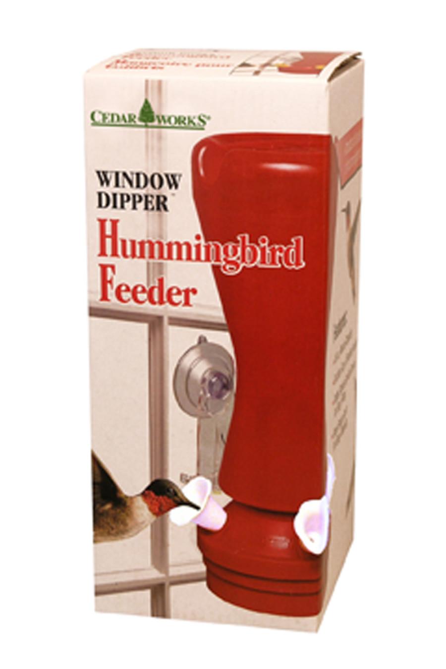 Pennington Window Dipper Hummingbird Feeder 1ea/16 oz