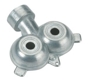 Gilmour Stationary Circular Sprinker Twin Spot Sprayers Zinc Silver 10ea/Small