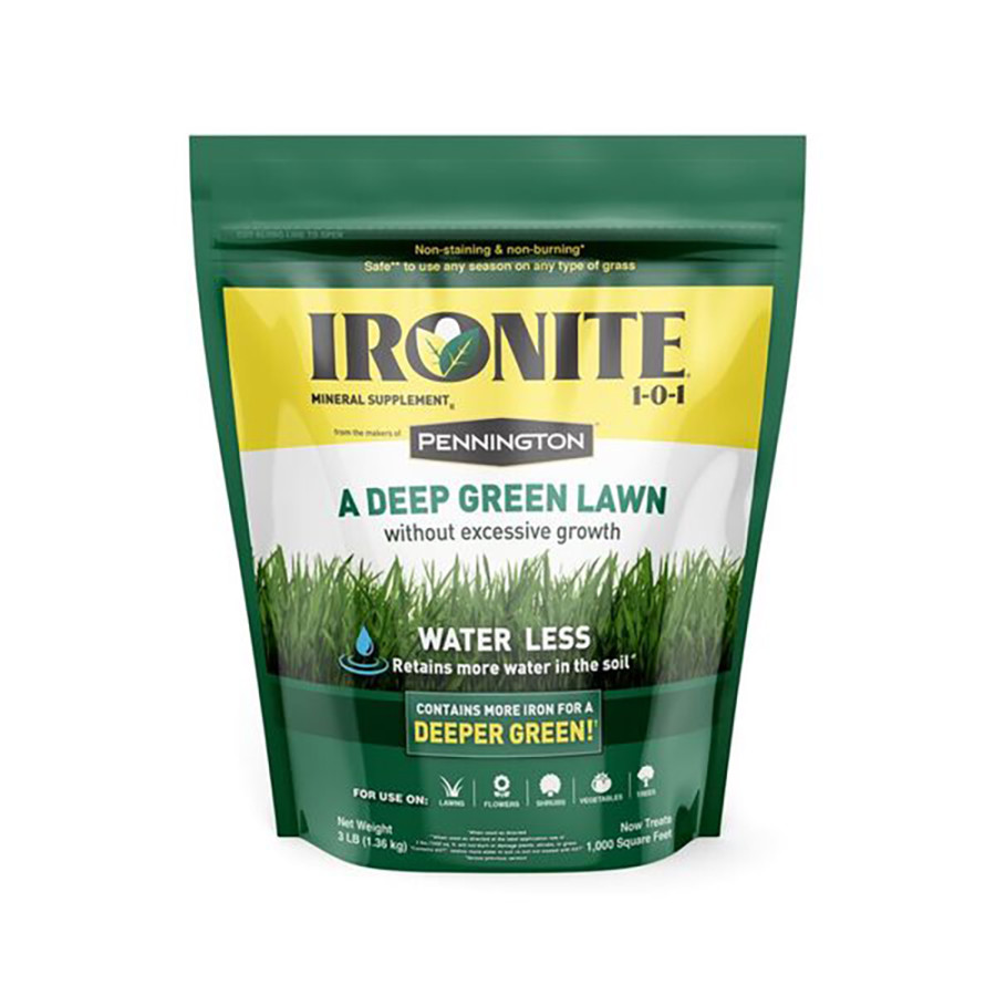 Ironite II by Pennington Mineral Lawn Supplement 1-0-1 6ea/3 lb, 1M