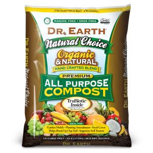 Dr. Earth Natural Choice All Purpose Compost Organic 60ea/1.5Cuft