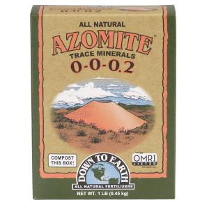 Down To Earth Azomite All Natural Powder 0-0-0.2 OMRI Powder 12ea/1 lb