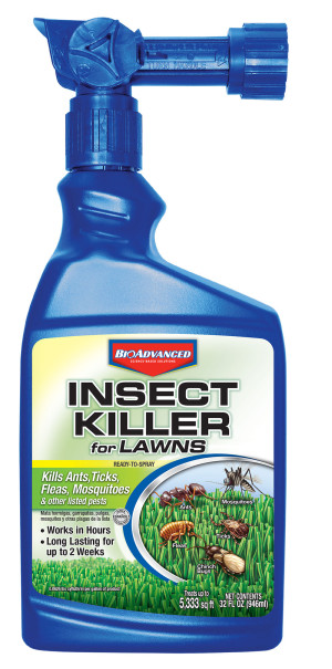 BioAdvanced Insect Killer for Lawns Ready To Spray 6ea/32 oz