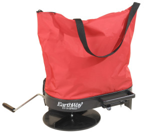 Earthway Nylon Bag Seeder/Spreader with 20lb Capacity Red 1ea/10.3 In X 15.3 In X 5.4 in