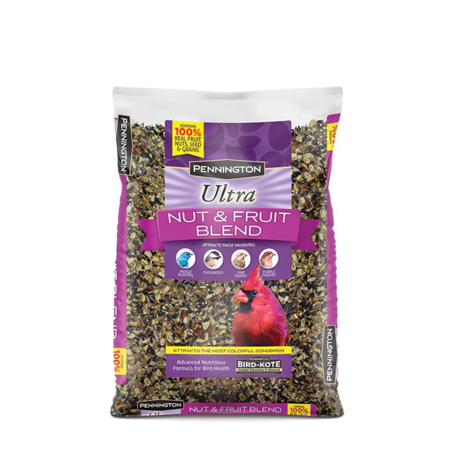Pennington Ultra Nut & Fruit Blend Bird Food 6ea/7 lb
