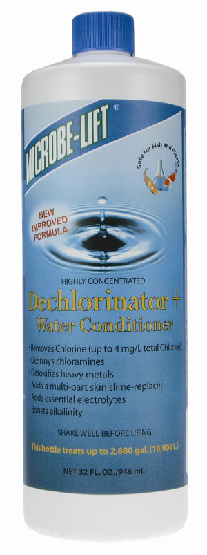 Ecological Laboratories Microbe-Lift Dechlorinator Water Conditioner