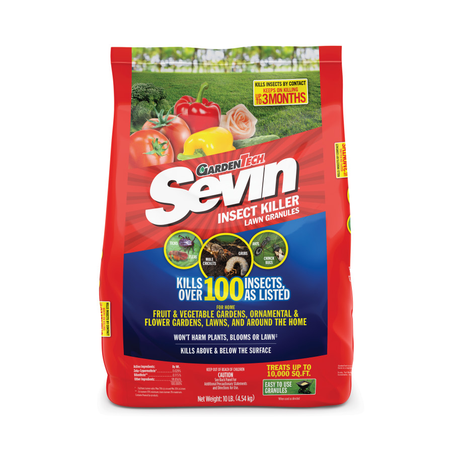 Sevin Insect Killer Lawn Granules 4ea/10 lb