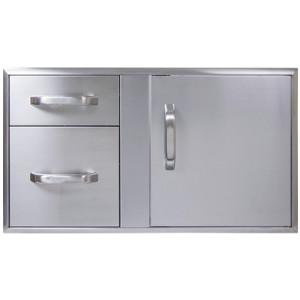 Ardor 36X21 Door 2 Drawer 1ea/36 In X 21 in