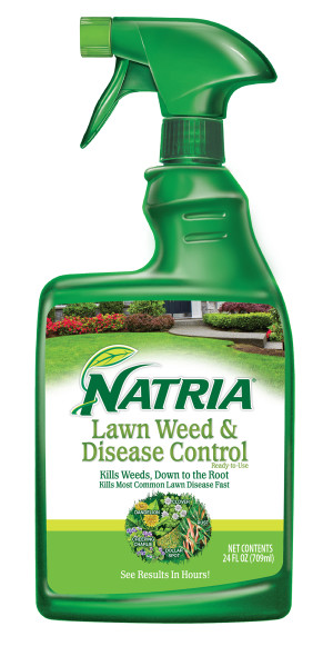 BioAdvanced Natria Lawn Weed & Disease Control Ready to Use 4ea/24 fl oz