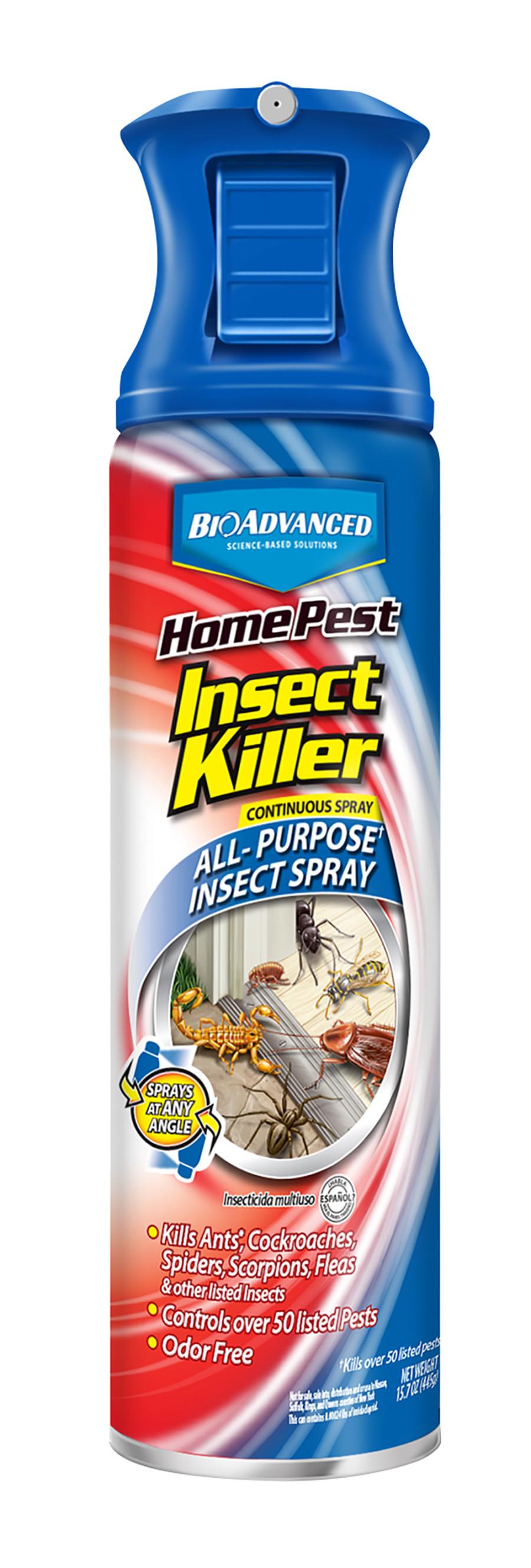 BioAdvanced Home Pest Insect Killer Continuous Spray 12ea/15 oz