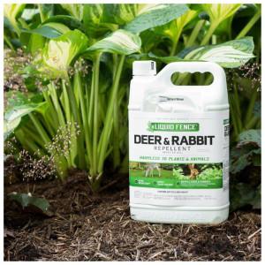 Liquid Fence Deer & Rabbit Repellent Ready To Use 4ea/1 gal