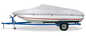 DMC Gulfstream Boat Cover 150D B Silver 1ea/17-19Ftx96 in