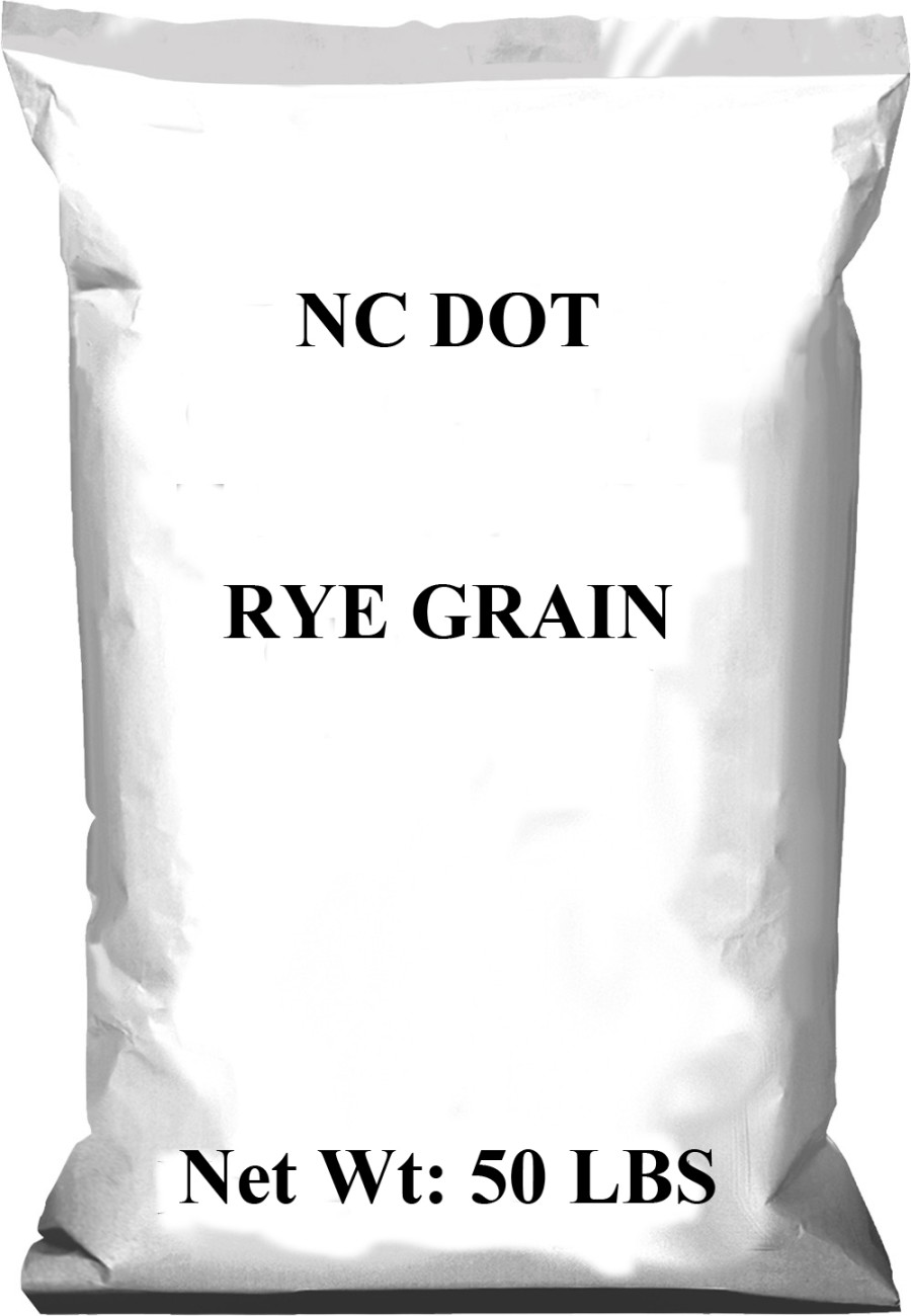 Pennington NC DOT Rye Grain Grass Seed 1ea/50 lb