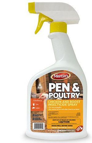 Control Solutions Pen & Poultry Insecticide Ready To Use 12ea/32 fl oz
