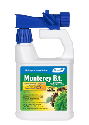 Monterey B.T. Biological Insecticide Ready To Spray Organic 12ea/32 oz