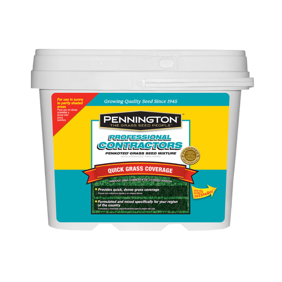 Pennington Contractor's Mix Grass Seed Mix Coated Southern Pro Contractors 1ea/10 lb, Pail