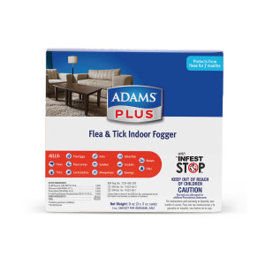 Adams Plus Flea & Tick Indoor Fogger 3 Pack 6ea/3 pk 3 oz
