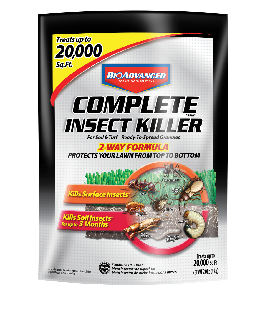 BioAdvanced Complete Insect Killer for Soil & Turf Granules 1ea/20 lb