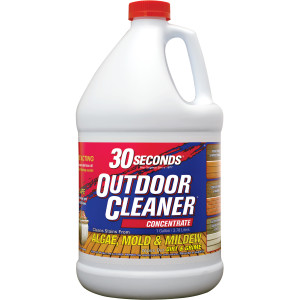 30 Seconds Outdoor Cleaner Algae Mold & Mildew Concentrate 4ea/1 gal