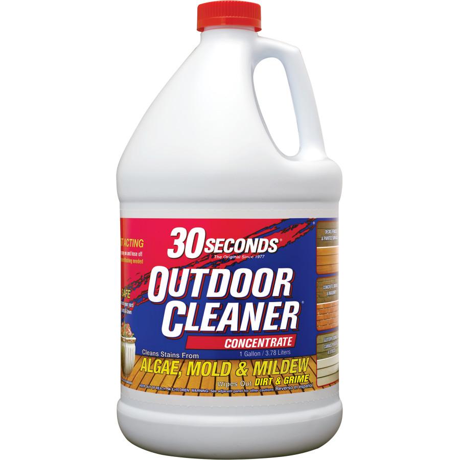 30 Seconds Outdoor Cleaner Algae Mold & Mildew Concentrate Quarter Pallet 27ea/1 gal