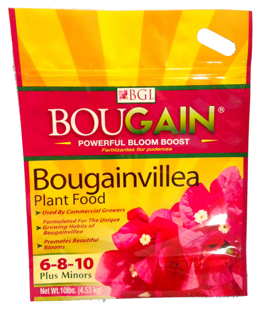 BGI Bougain Bougainvillea Fertilizer Plus Minors 6-8-10 6ea/10 lb