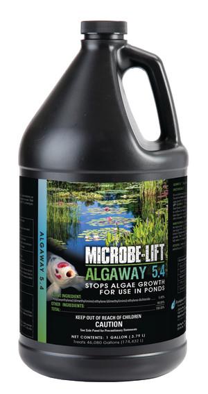 Ecological Laboratories Microbe-Lift AlgAway 5.4 Algaecide for Ponds 4ea/1 gal