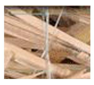 Excelsior Erosion Control Blanket Reg-Single Net Natural 1ea/8Ftx90 ft