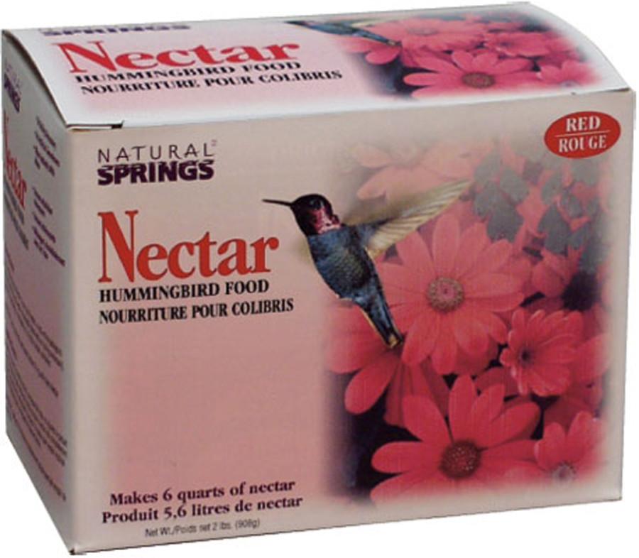 Pennington Natural Springs Nectar Hummingbird Food Powder Red 6ea/2 lb