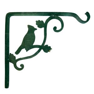 Panacea Kay Home Hummingbird Vein Shelf Bracket Green 12ea