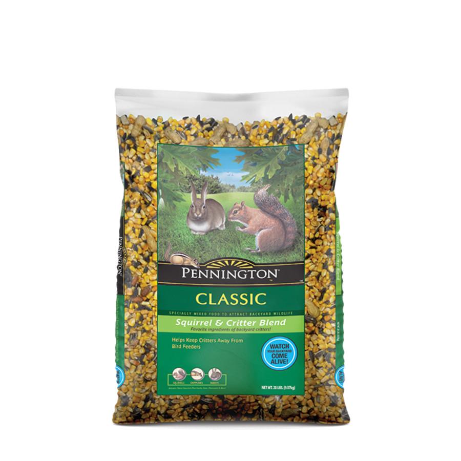 Pennington Classic Squirrel & Critter Blend Specially Mixed Food 4ea/10 lb