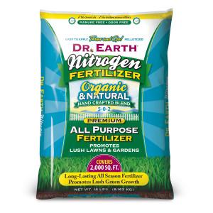 Dr. Earth Lawn And Garden Nitro 5-0-2 Fertilizer 1ea/18 lb