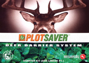 Messina Plotsaver™ Starter Kit with Barrier Ribbon & Deer Repellent Concentrate 6ea