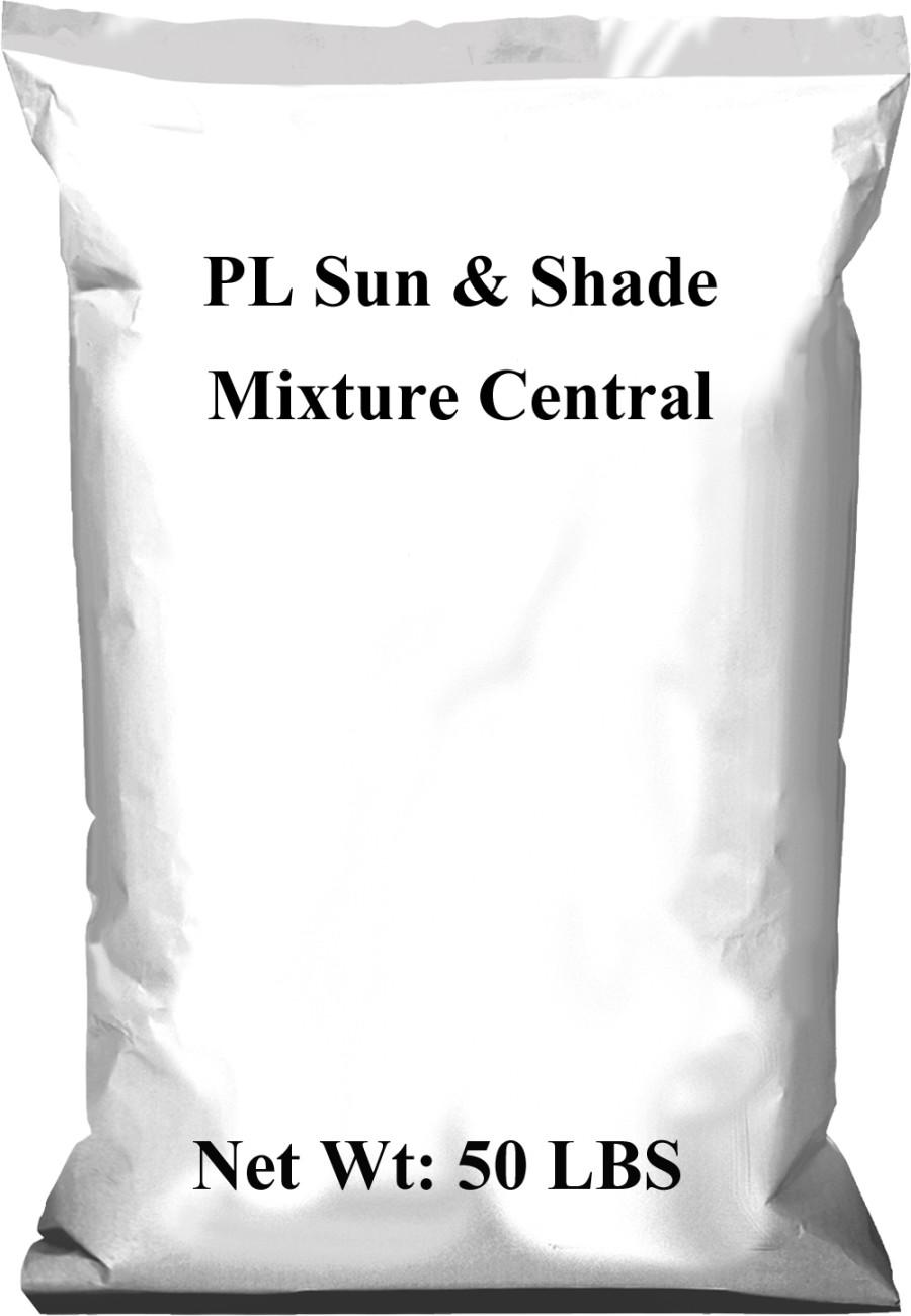 Pennington PL Sun & Shade Mixture Central 1ea/50 lb