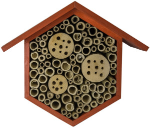 """Supermoss Beneficial Bug Hotel """"Hibiscus"""" Red 1ea/6.75 In (W) X 8.75 In (H)"""