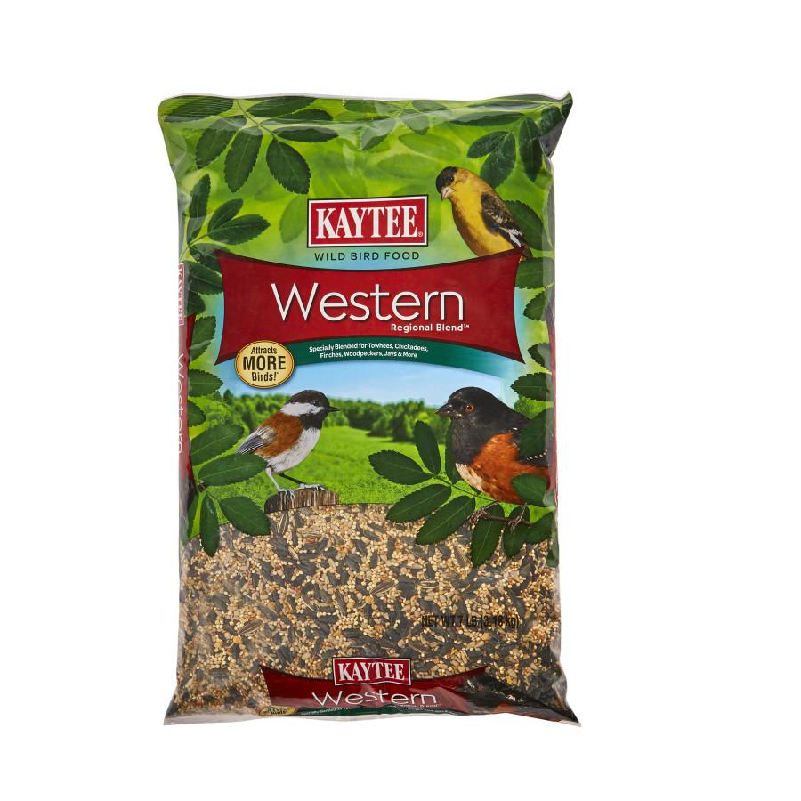 Kaytee Western Regional Blend Wild Bird Food 6ea/7 lb