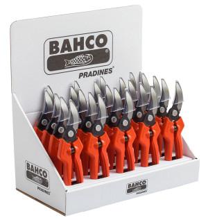 Bahco Hand Pruner Contour Steel Handle 24ea