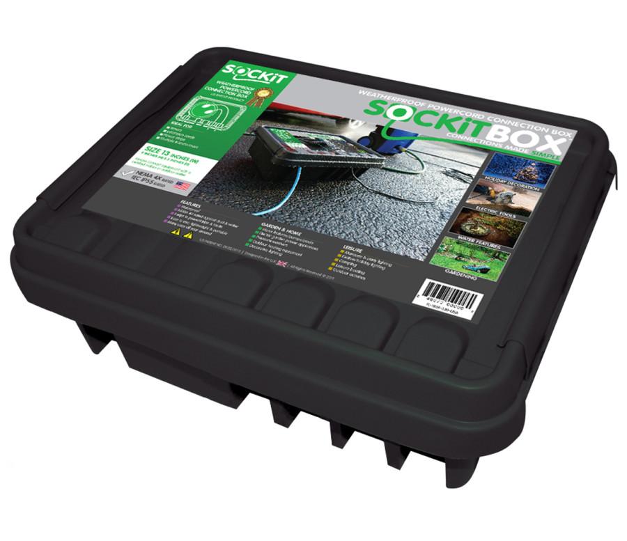 SOCKiTBOX Weatherproof Powercord Connection Box