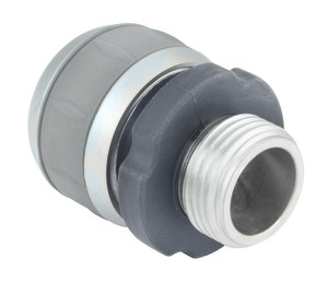 Gilmour Compression Repair 5/8in 3/4in Metal End Hose Coupling Male Male Multi-Color 10ea