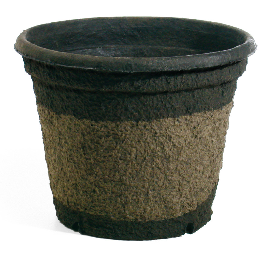 Western Pulp Molded Fiber Round Nursery Container UPC Tag Green 10ea/18Inx16In 12.15Gl