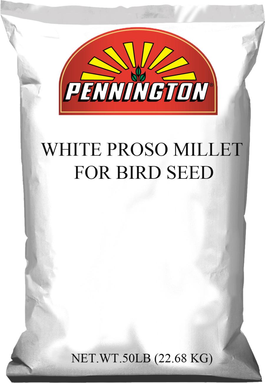 Pennington Proso Millet For Bird Seed White 1ea/50 lb