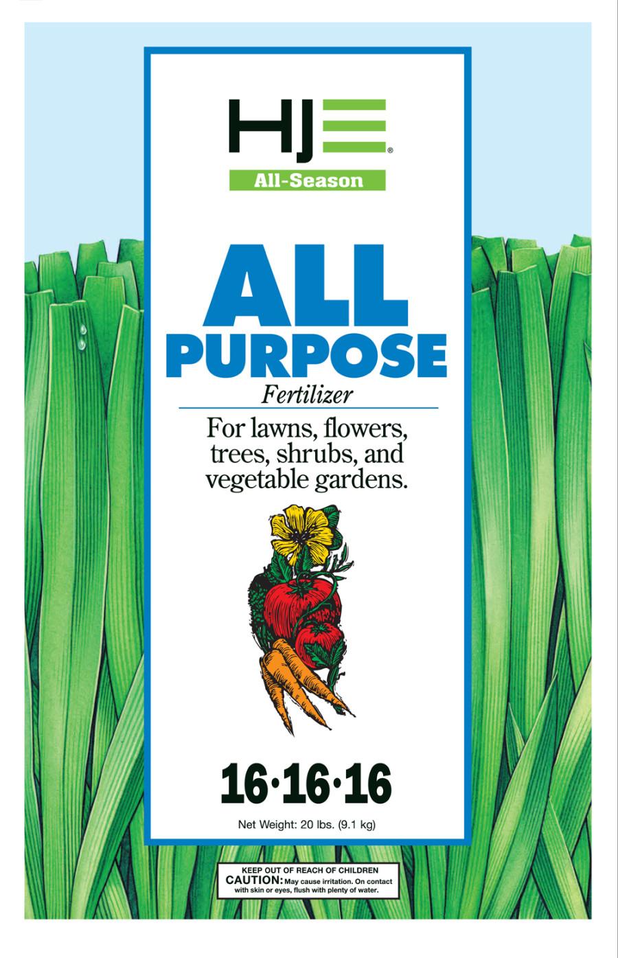 Howard Johnson All Purpose Fertilizer 16-16-16 100ea/20 lb